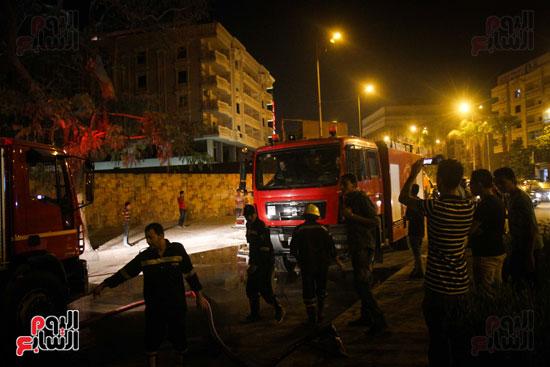 حريق  مدينة السينما بشارع الهرم (35)