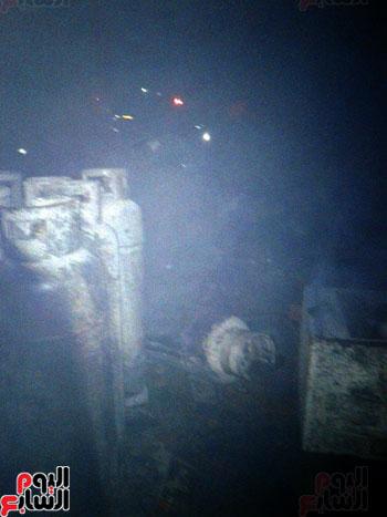 السيطرة على حريق مصنع الطوب بالبحيرة بعد انفجار عشرات اسطوانات الغاز (3)