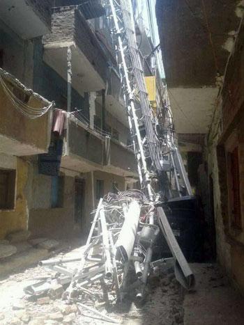 سقوط-شبكة-تليفونات-بشارع-بورسعيد-فى-منفلوط--(3)
