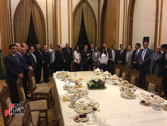 سامح شكرى خلال حفل إفطار رؤساء التحرير والإعلاميين (2)