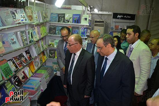 حلمى النمنم، وزير الثقافة، هيثم الحاج على، هيئة الكتاب (1)