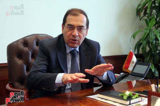 المهندس طارق الملا  - وزير البترول (1)