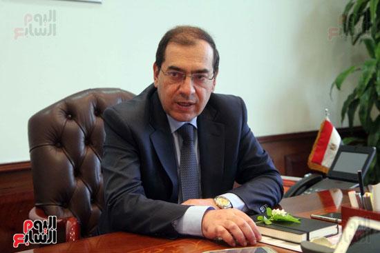 المهندس طارق الملا  - وزير البترول (2)