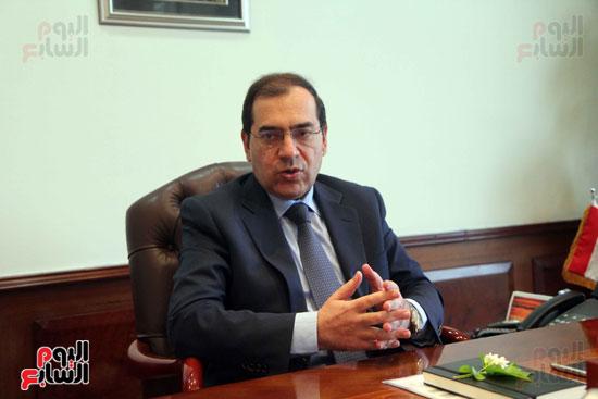 المهندس طارق الملا  - وزير البترول (3)