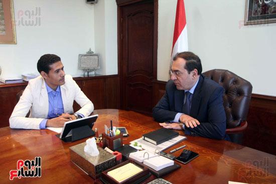 المهندس طارق الملا  - وزير البترول (6)