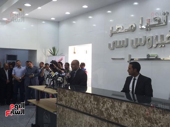 صندوق تحيا مصر يفتتح مركز لعلاج فيرس سى  (4)