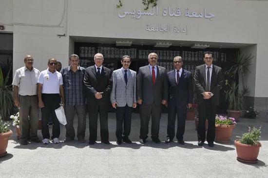 جامعة قناة السويس تقرر إنشاء ميدانين للرماية لتدريب الطلاب  (2)