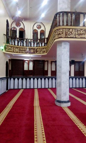 محافظ الغربية ومدير الأمن يفتتحان المسجد الشرقى بقرية ميت هاشم (5)