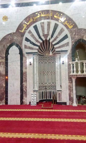 محافظ الغربية ومدير الأمن يفتتحان المسجد الشرقى بقرية ميت هاشم (6)