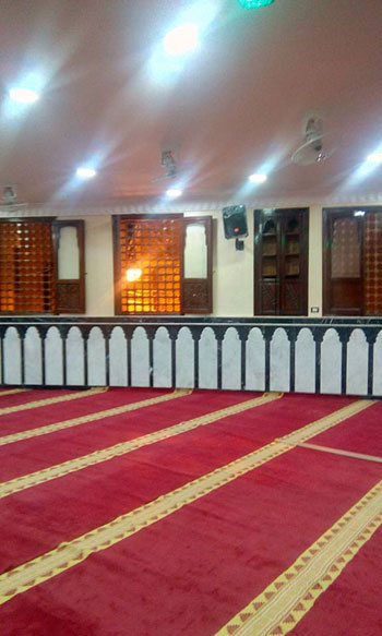 محافظ الغربية ومدير الأمن يفتتحان المسجد الشرقى بقرية ميت هاشم (7)