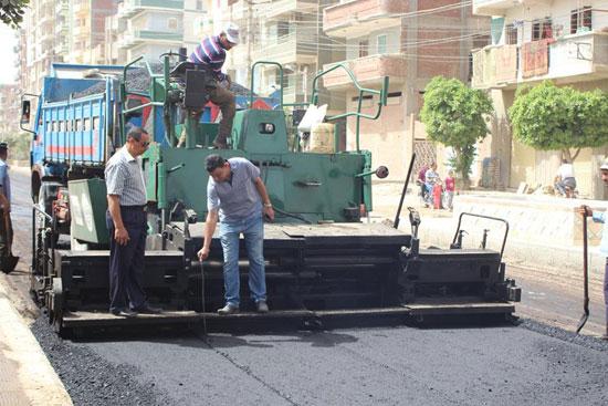 رصف شوارع دسوق  (1)