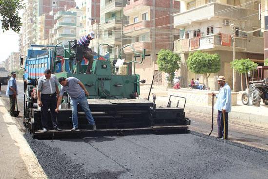 رصف شوارع دسوق  (4)
