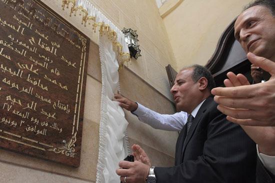 محافظ البحيرة يفتتح مسجد الكلاف (3)