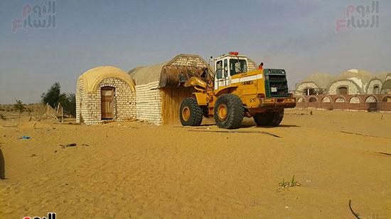 إزالة التعديات على 510 ألف فدان بمشروع استصلاح 1.5 مليون فدان (1)