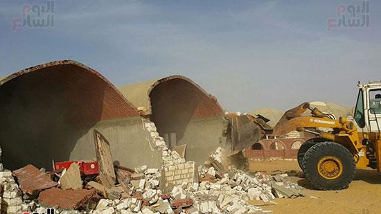 إزالة التعديات على 510 ألف فدان بمشروع استصلاح 1.5 مليون فدان (5)