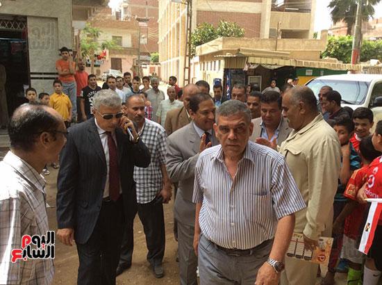 محافظ الغربية يفتتح ملعبًا لكرة القدم بمركز شباب ميت حبيب فى سمنود (5)