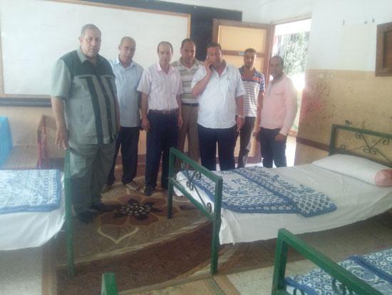 توفير احتياجات المراقبين والملاحظين للامتحانات باستراحة فوه فى كفر الشيخ (2)