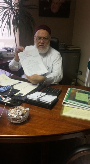 توقيع عقد كتاب تحت عنوان عقيدة أهل السنة والجماعة لاحمد جمعة (2)