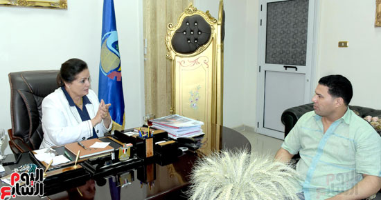 حوار مع لمهندسة نادية عبده نائب محافظ البحيرة (4)