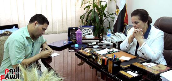 حوار مع لمهندسة نادية عبده نائب محافظ البحيرة (5)