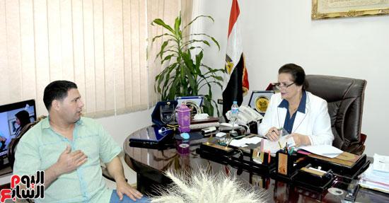 حوار مع لمهندسة نادية عبده نائب محافظ البحيرة (6)