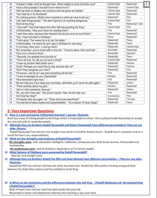 مراجعات ليلة الامتحان فى مادة اللغة الانجليزية (14)