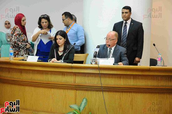 المؤتمر الصحفى لاعلان الفائزيين فى جوائز الدولة التشجيعية (10)