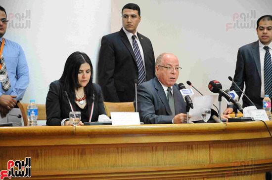 المؤتمر الصحفى لاعلان الفائزيين فى جوائز الدولة التشجيعية (13)