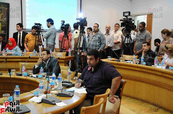 المؤتمر الصحفى لاعلان الفائزيين فى جوائز الدولة التشجيعية (16)