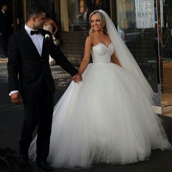 b62e2a851f304 كونى برنسس فى ليلة العمر.. بالصور.. السندريلا أحدث فساتين زفاف 2016 ...