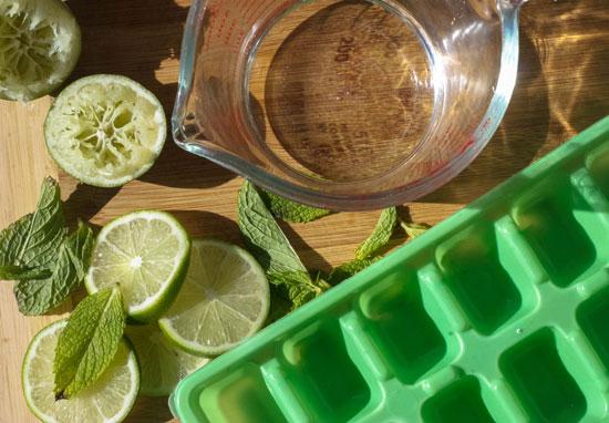 مكعبات الليمون بالنعناع -اليوم السابع -7 -2015