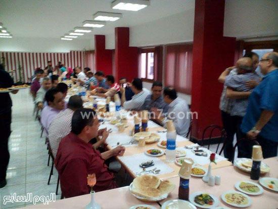 جانب من حفل الإفطار -اليوم السابع -7 -2015