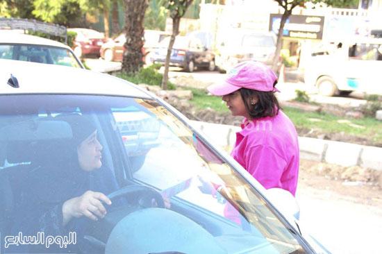 جانب من الحملة فى الشارع -اليوم السابع -7 -2015