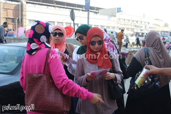 جانب آخر من تفاعل النساء مع الحملة -اليوم السابع -7 -2015