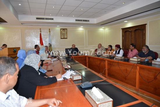 اجتماع المجلس الإقليمى للصحة بمطروح -اليوم السابع -7 -2015