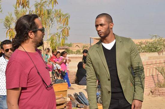 المخرج حسين المنباوى مع محمد رمضان -اليوم السابع -7 -2015