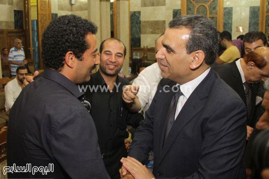 وزير الثقافة وحوار جانبى مع عمرو سعد -اليوم السابع -7 -2015