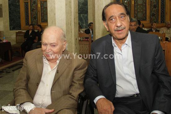 المخرج المسرحى سمير خفاجى ومحمد أبو داوود -اليوم السابع -7 -2015