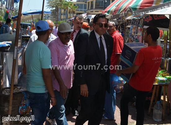 المسيرى داخل اسواق المعمورة  -اليوم السابع -7 -2015