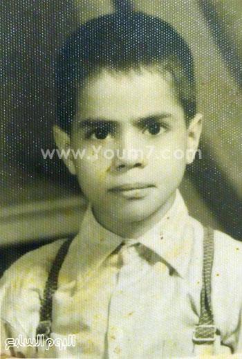 الصورة الحقيقية للرئيس السيسى عندما كان طفلا -اليوم السابع -7 -2015