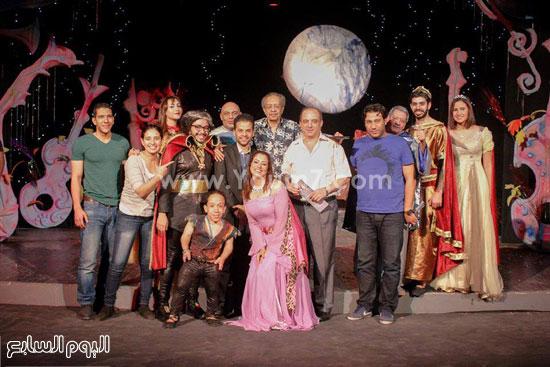 أسرة مسلسل حلم ليلة صيف -اليوم السابع -7 -2015