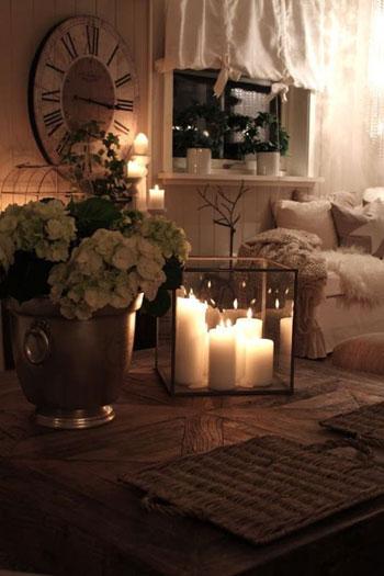 جملي منزلك بشموع جميله تجميعي