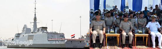 """اليوم.. القوات البحرية تحتفل بوصول الفرقاطة """"تحيا مصر"""" إلى الإسكندرية  72015311558398481"""