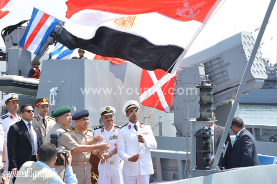 """اليوم.. القوات البحرية تحتفل بوصول الفرقاطة """"تحيا مصر"""" إلى الإسكندرية  72015311558398484"""