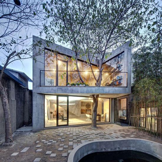 بالصور: معماريون يعدلون شكل 11 منزلا للحفاظ على الشجر  720153123732315