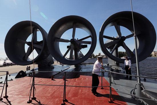 المعرض الدولي العسكري البحري في مدينة سان بطرسبورغ  72015312584793472015312234722509083