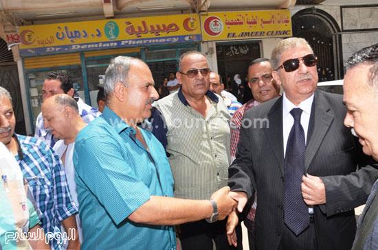 استقبال المحافظ الصورة  -اليوم السابع -7 -2015