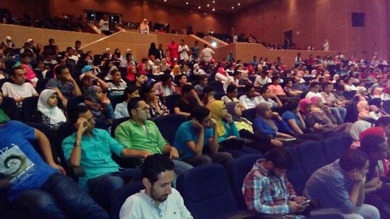جانب من الحضور  -اليوم السابع -7 -2015