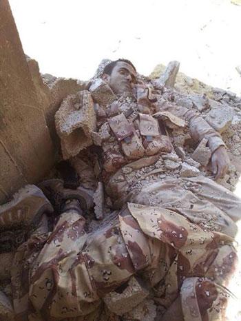 صور قتلى العناصر الإرهابية فى شمال سيناء  -اليوم السابع -7 -2015