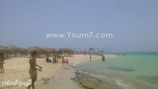 شاطئ جزيرة الجفتون الكبير -اليوم السابع -7 -2015